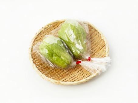 Chayote in a bag