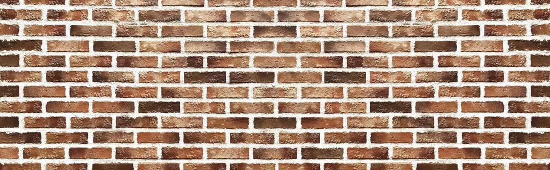 Brick wall wide size