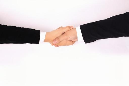 商務手的部分(握手)4