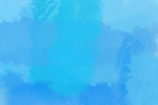 Watercolor, blue, background material