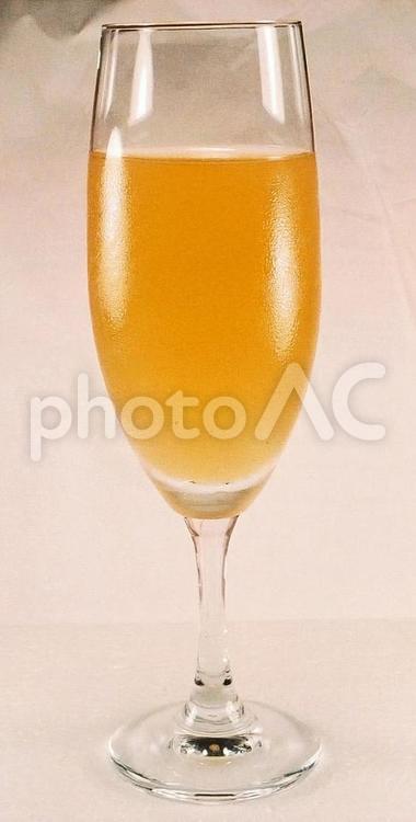 果汁100%・リンゴジュースの写真