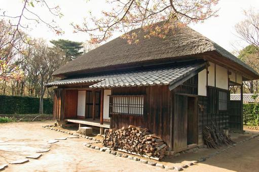 Samurai residence (whole view)