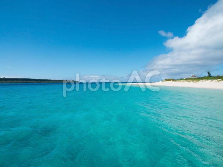 沖縄、宮古島前浜ビーチの写真