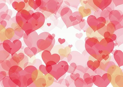 Heart Background Pink