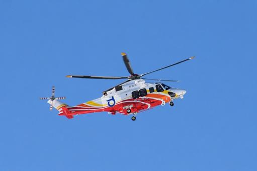 Firefighting disaster prevention helicopter