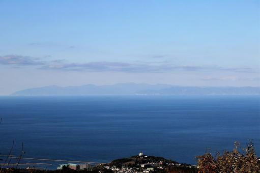 홋카이도 오타루 · 毛無山에서 가을 증모 연봉