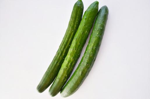 Cucumber (white background)
