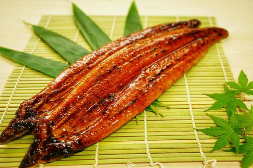 Kabayaki of oversized eel from Kagoshima prefecture