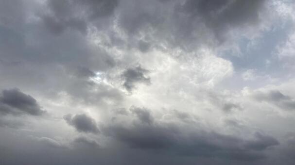 흐린 하늘 2