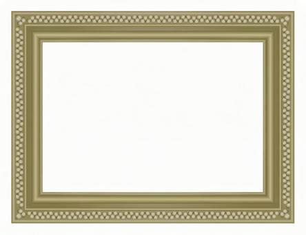 Antique picture frame copper color