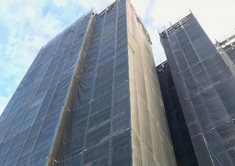 Condominium restoration work