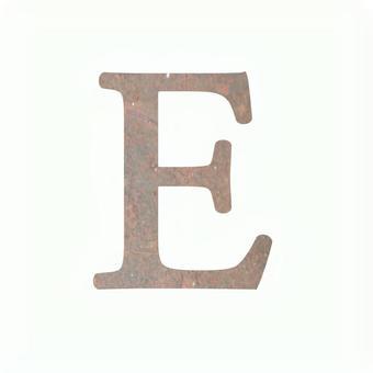 Rusted E