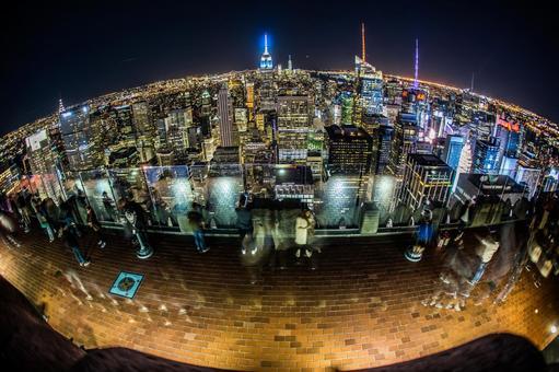 Night view of New York / Manhattan 20