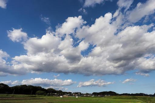 사 토야마의 구름
