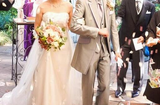 婚禮花藝淋浴1