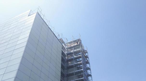 Work site under construction