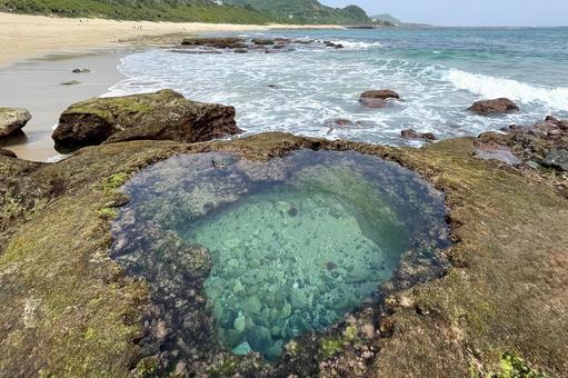 Amami Oshima Heart Rock