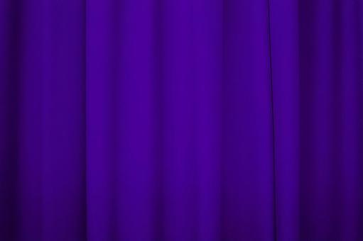 Curtain purple