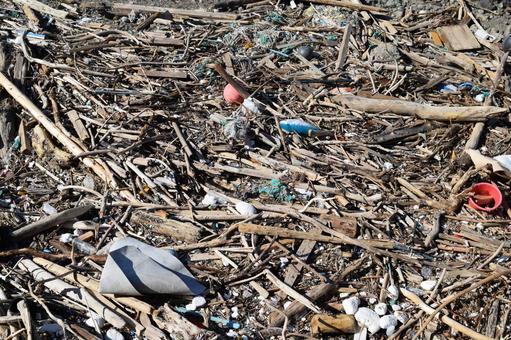 沿海殘骸環境問題垃圾問題