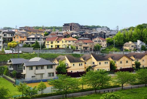 Rich green residential area