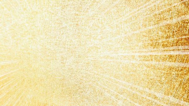 Glitter Gold 集中線從左中心 16:9