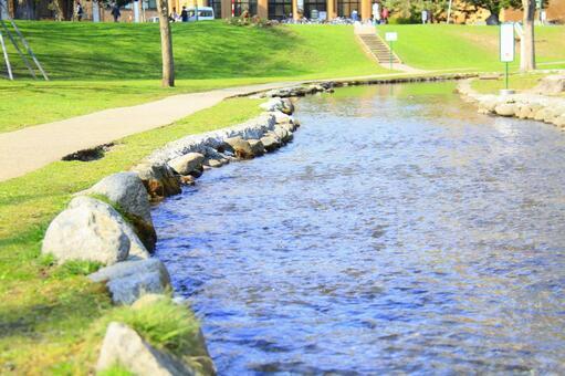River in Hokkaido University