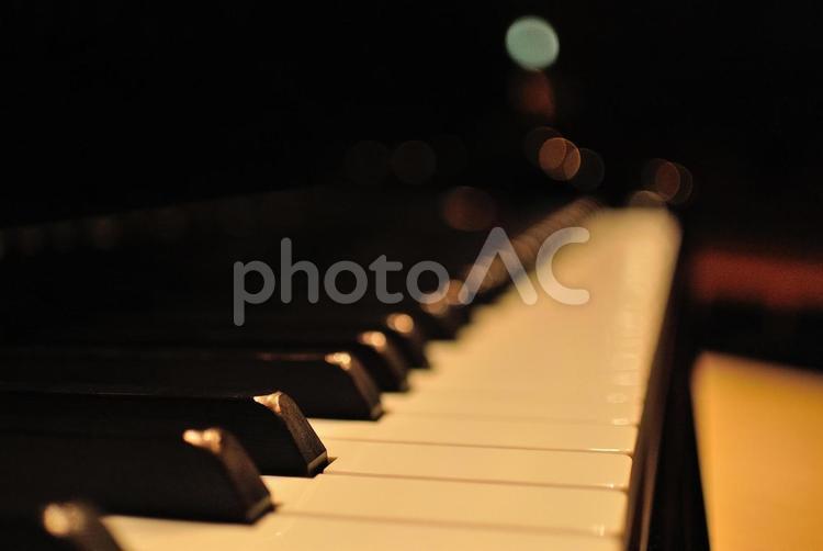 ピアノ・鍵盤の写真