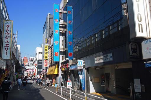 도영 지하철 우에노 오카 치마 치역 산호 스트리트