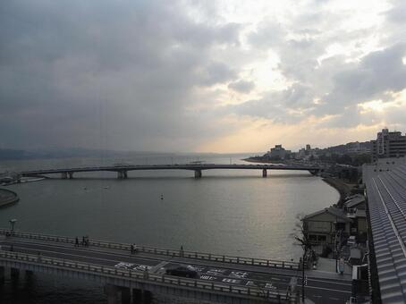Lake Shinji Bridge