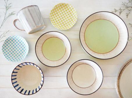 Living cute Japanese tableware
