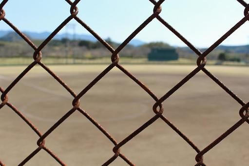 Baseball field over the fence 002
