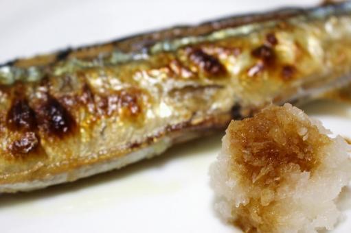 Autumn sweet fish and radish roe 2