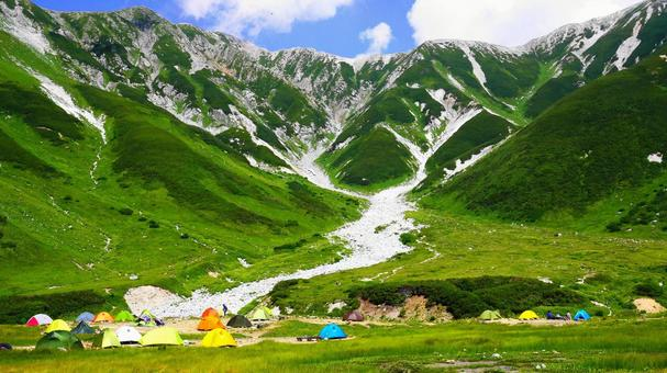 Northern Alps campsite