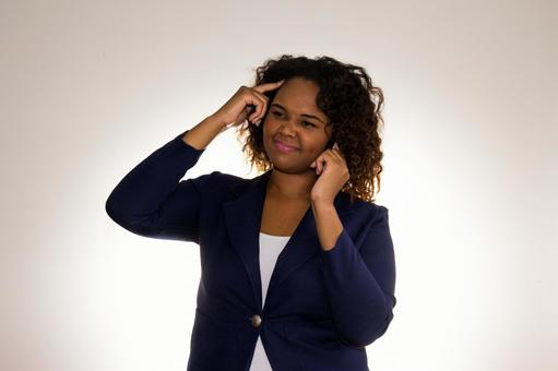 Black female mobile phone 3