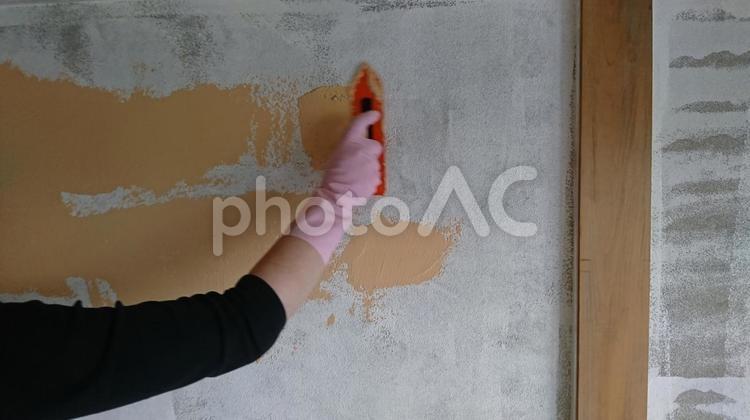和室の砂壁リフォームの写真