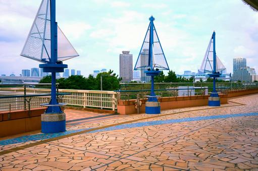 View of Odaiba