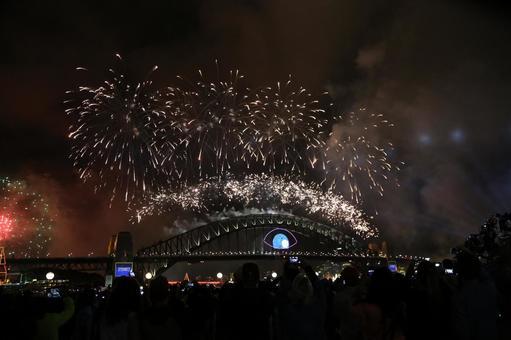 悉尼海港大桥新年除夕