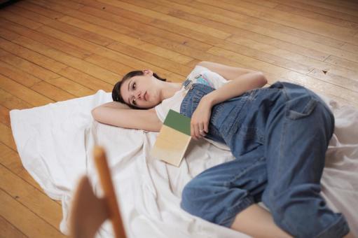 Female lying down 4