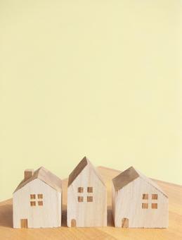 房子 - 积木 - 奶油