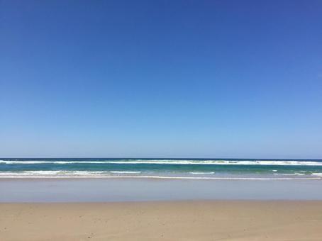 Sea and Sky Gradation