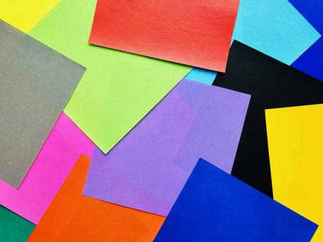 Colorful background origami