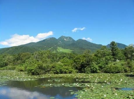 Myoko mountain pond