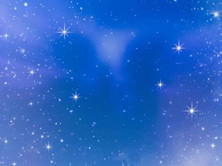 Fairy tale starry sky