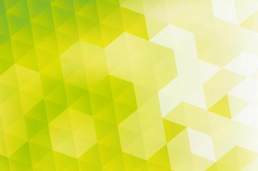Green hexagon abstract background texture material