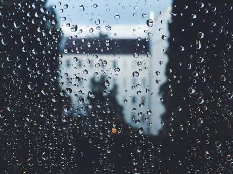 Rain-wet windows