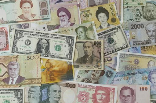 Banknotes in various countries 04