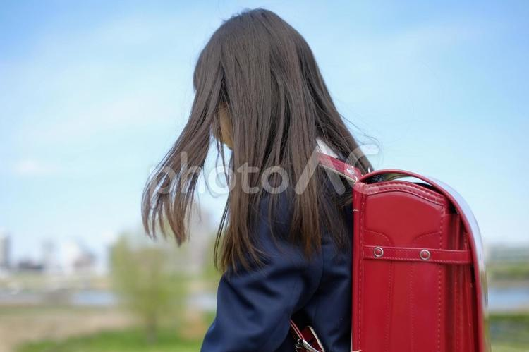 小学生の女の子53の写真