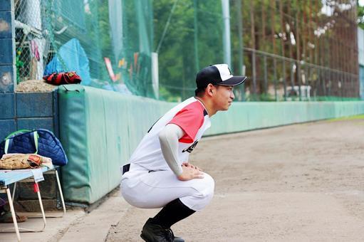 Male person Baseball sports veteran