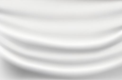 Simple white streamlined abstract background material cloth-image