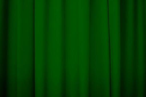 Curtain green